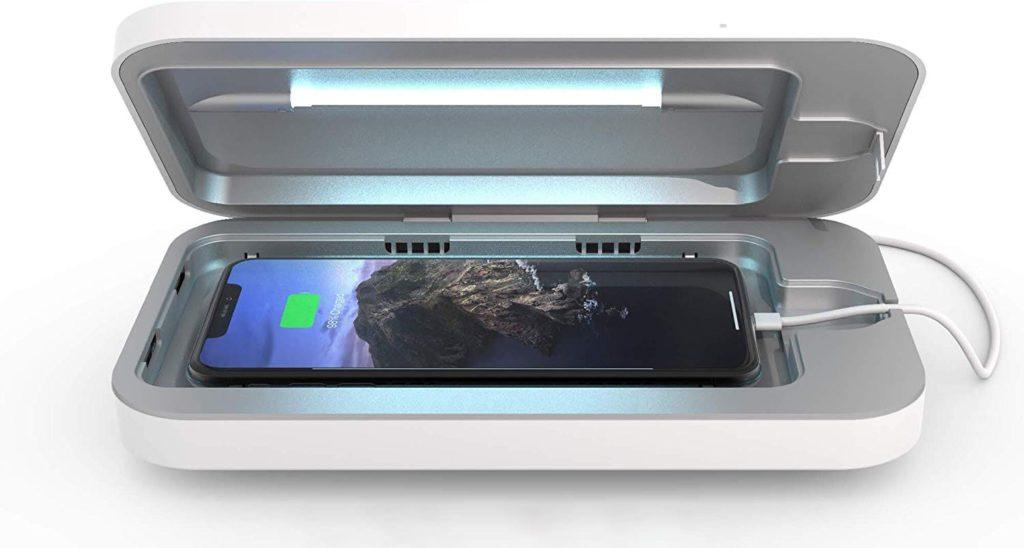 UV sterilizátor je najúčinnejší spôsob ako vyčistiť telefón.